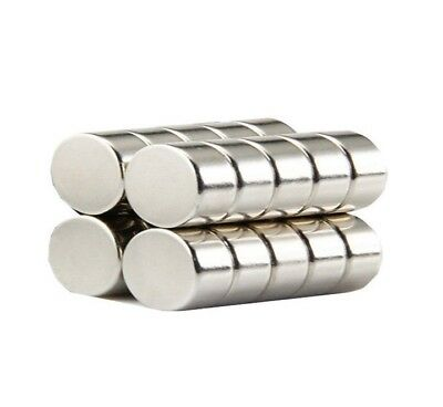 Super Strength 20mm by 10mm Rare Earth Neodymium Disc Magnets - Excellent Value!