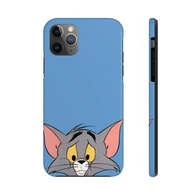 Disney Tom & Jerry Cat Mouse Chasing  Movie Cartoon Phone Case Phone Silicone