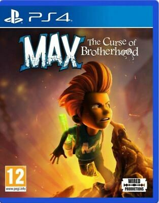 Max The Curse Of Brotherhood Ps4 Game