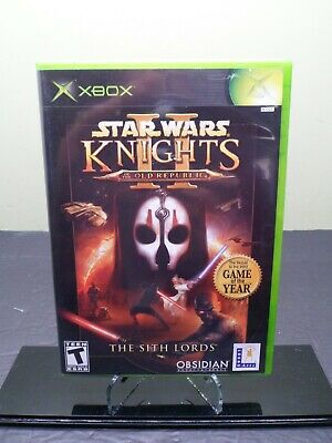 Star Wars Knights of the Old Republic II The Sith Lords Xbox 2004 * FREE SHIP *