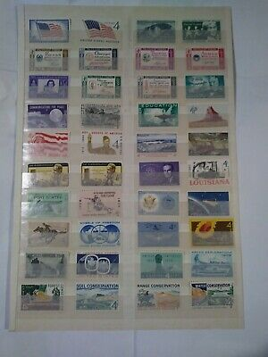 All Different, All MNH - Sixty 4 cent stamps - MNH - FV 2.40