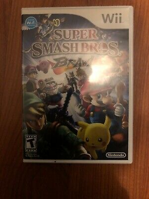 Super Smash Bros. Brawl  ~ Game, Case and Manual ~ Complete ~ Fast Free Shipping