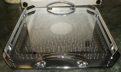 Vintage Ranleigh Art Deco Square Serving Tray