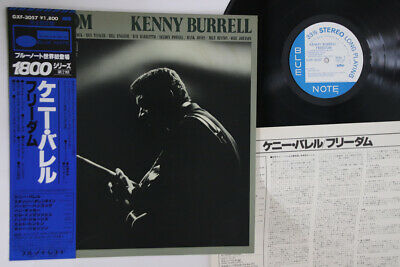 LP KENNY BURRELL Freedom GXF3057 BLUE NOTE JAPAN Vinyl OBI