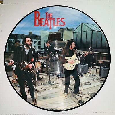 Beatles, Complete Rooftop Concert, Picture Disc Vinyl W/Jacket, Limited Edition