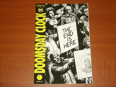 DC Comics:  DOOMSDAY CLOCK #1 (of 12) February 2018 (2nd Print) Watchmen, Deluxe