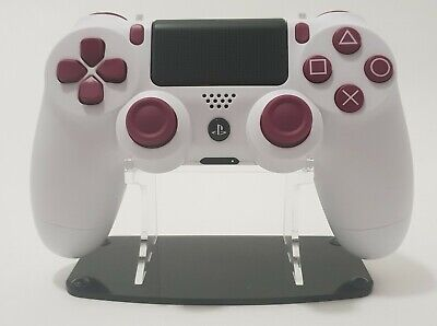 Official Sony Playstation Dualshock 4 V2 Ps4 Controller - Custom White/Purple
