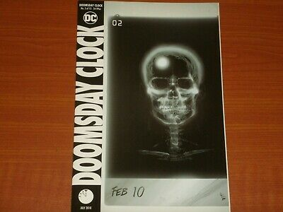 DC Comics:  DOOMSDAY CLOCK #5 (of 12) July 2018 Main Cover Watchmen, Deluxe