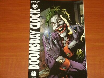 DC Comics:  DOOMSDAY CLOCK #5 (of 12) July 2018 Joker Variant Cover Watchmen