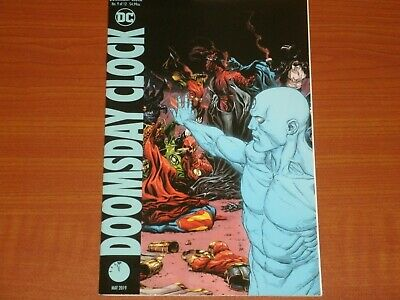 DC Comics:  DOOMSDAY CLOCK #9  (of 12)  May 2019 Variant Cover, Watchmen, Deluxe