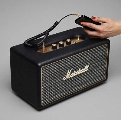 Marshall Stanmore Wireless Stereo Speaker System, Black 4091627, NIB FAST SHIP