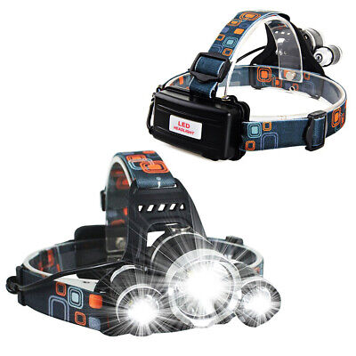 12000LM 3 x XML CREE T6 LED Lampe frontale rechargeable lampe frontale TY2