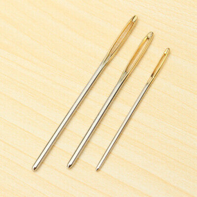 3Pcs Large Eye Blunt Needles Wool Thick Hand Knitter for Yarn Sewing Darning
