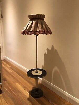 Antique Vintage Art Deco Bakelite Tilley Floor Lamp 1920S