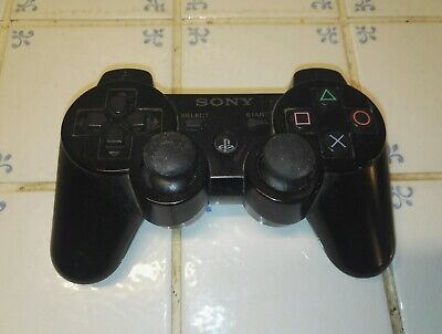Official Genuine Sony Playstation 3 Ps3 Controller Gamepad Black Sixaxis