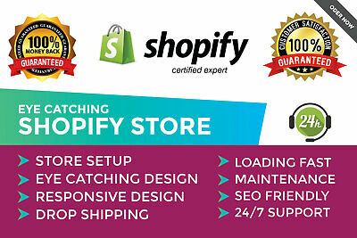 I will setup automated aliexpress dropshipping shopify store (No Monthly Fees)