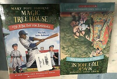 ** MAGIC TREE HOUSE Set of 56 books! 29 MTH + 27 MERLIN MISSIONS ** NEW, SEALED!