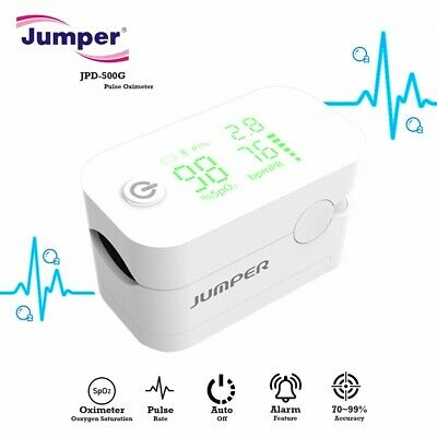 Jumper JPD-500G Pulse Oximeter With Alarm Function – White