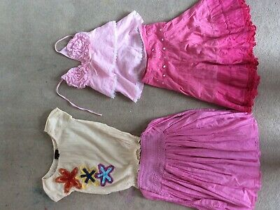 Summer bundle Girls tops and skirts Next, Monsoon years 4-7 good used conditions