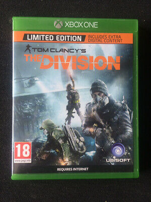Tom Clancy's The Division Limited Edition Xbox One Inc Manual & Fast Free Post