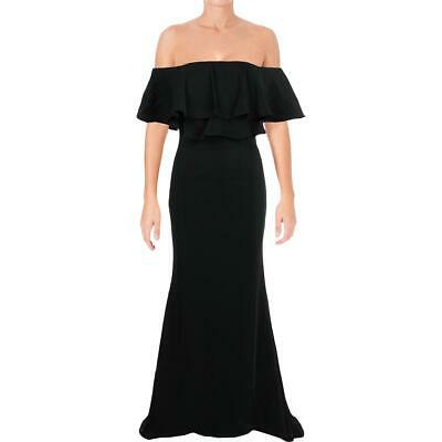 Jarlo Womens Athalia Off-The-Shoulder Party Formal Evening Dress Gown BHFO 5751