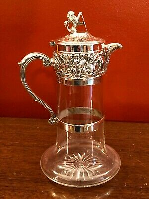 Fabulous electrotype claret jug by Hukin & Heath circa 1880