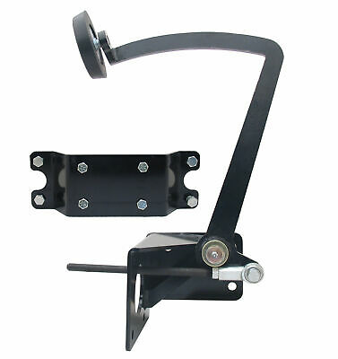 Universal Frame Mount Pedal. Black Powder-Coated. Based on Early Ford 1928-1931