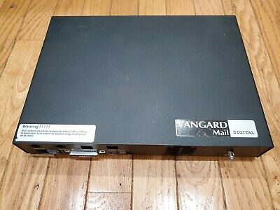 NEC Nitsuko Vanguard Mail 4-Port Digital Voicemail System w/ Power Adapter