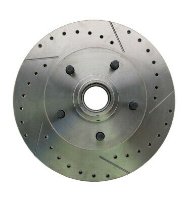 1964-1972 GM A, F, X Body & 1955-1964 Full Size Chevy Drilled/Slotted Rotor