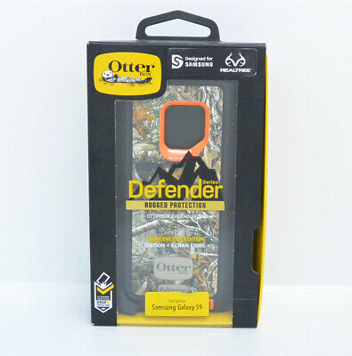 New OEM OtterBox Defender Series Realtree Blaze Edge Case For Samsung Galaxy S9