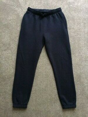 Girls Navy Jogging Bottoms Age 11-12 (ideal for school PE)