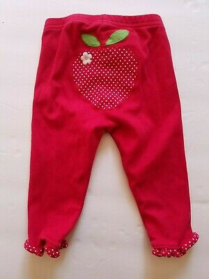 Gymboree Red Strawberry Design Brand New Baby  Leggings Size 6-12 Mo 2012