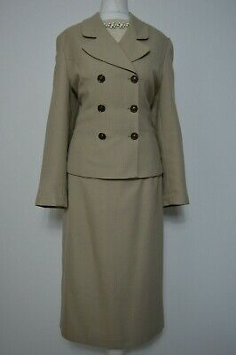 Vintage 1940's look two piece woman's suit size 12 St Micheal Made in the UK