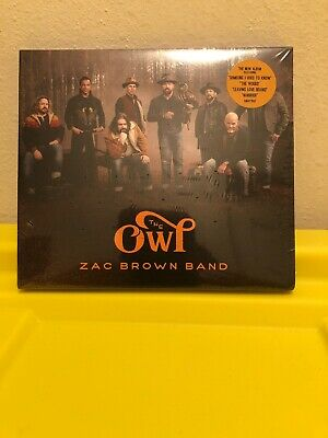 The Owl by Zac Brown Band (CD, 2019, BMG, Brand New Factory Sealed) Free Ship