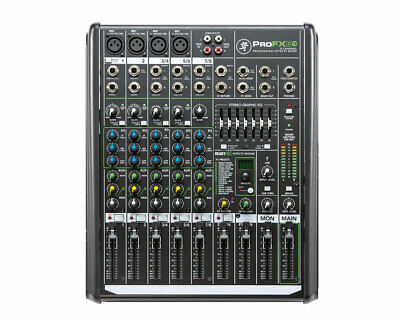 Mackie ProFX8 V2 8 Channel Compact Mixer With USB & Integrated Effects