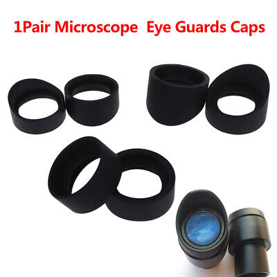 1Pair Telescope Microscope Eyepiece 33-36 Mm Eye Cups Rubber Eye Guards Caps ZSH
