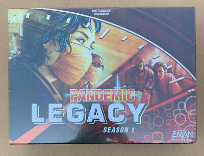 Pandemic: Legacy Season 1 - Red Board Game New