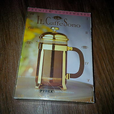 Coffee Maker 6 Cup UK FREE POST GREAT CHRISTMAS GIFT Mesh Smooth Premier