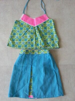 Designer Judith Lacroix girls skirt and top set age 3