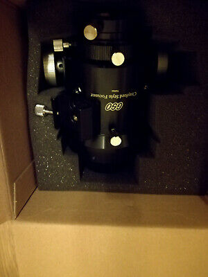 """GSO 2"""" Single Speed Refractor Crayford Focuser with 86.4mm Base Adapter"""