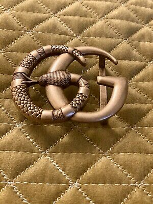 Gucci Snake Buckle Sold As Seen Can Be Used Too Customise A Belt