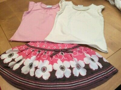 Monsoon Skirt and 2x Next Tops
