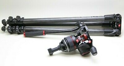 Manfrotto Nitrotech N8 Video Head and 535 Carbon Fiber Tripod