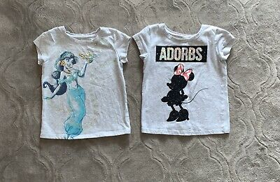 Disney/'s Princess Jasmine Toddler Girl Foiled Graphic Jumping Beans Tank Top 4T