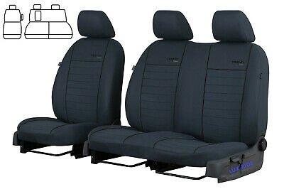 Ford Transit Custom 2015 2016 2017 2018 2019 2020 Tailored Fabric Seat Covers