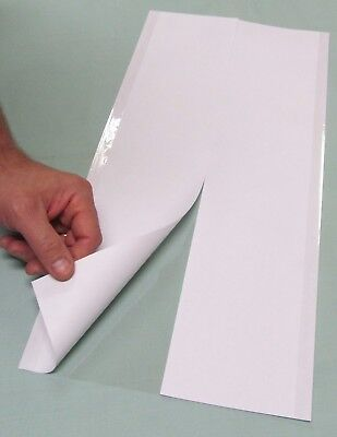 """25 - 10"""" x 23"""" Brodart ARCHIVAL Fold-on Book Jacket Covers - Super Clear Mylar"""