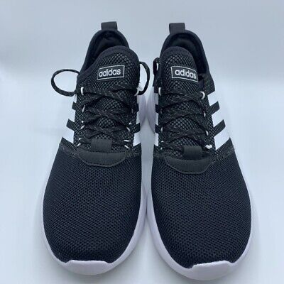 Adidas Mens Lite Racer Reborn RBN Running Shoes Black Lace Up Sneaker F36650 9.5