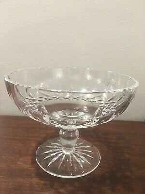 Waterford crystal Lismore footed bowl