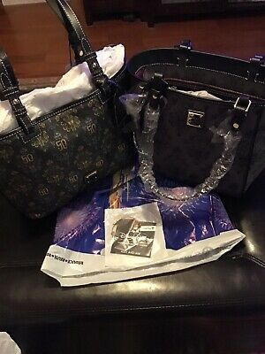 Disney Dooney & Bourke Haunted Mansion Janie Tote Bag, 50th Tote, Alex & Ani NWT