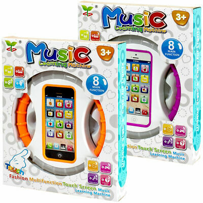 Educational Toy Cell Phone Touch Screen Learning Music Toy Gift For Kids